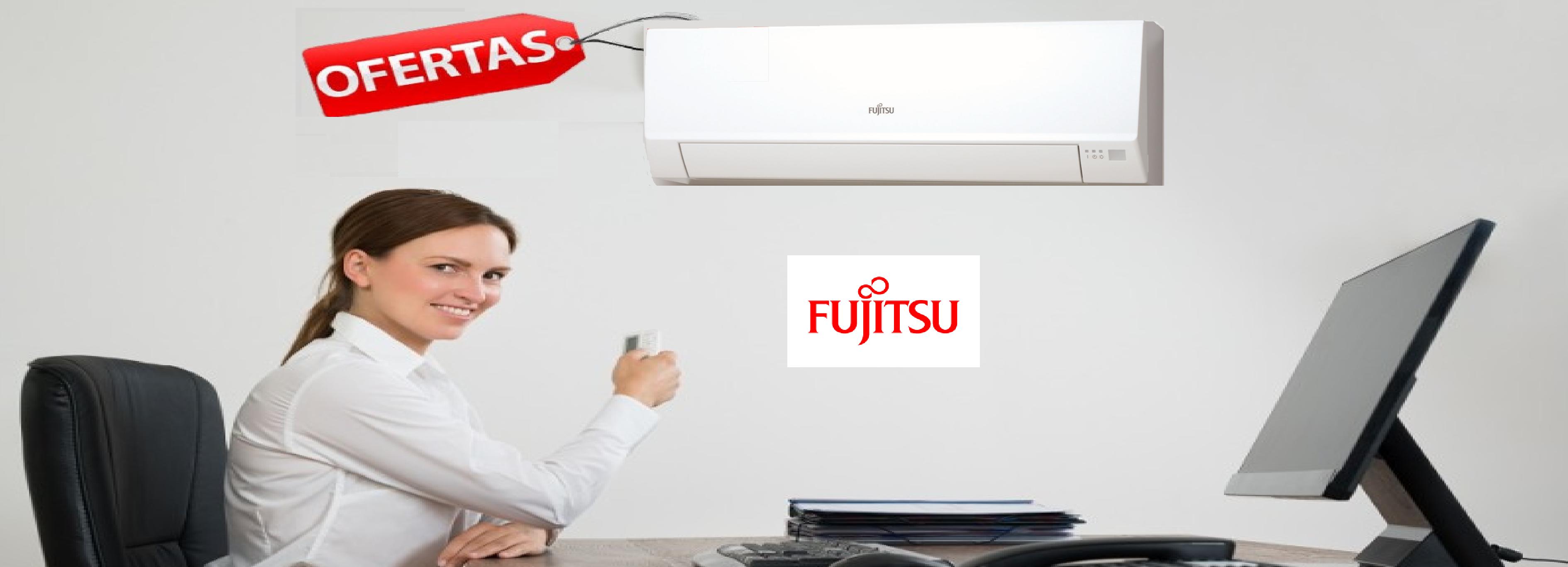 Ofertas en aire acondicionado Split Pared Fujitsu