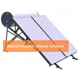 Mantenimiento Placas Solares hasta 300 litros