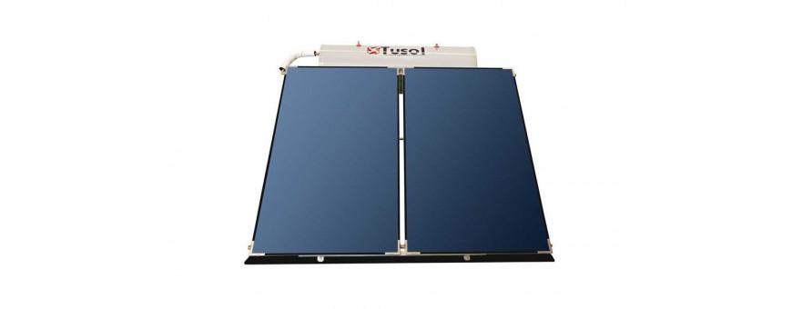 Comprar e instalar placas de energía solar para agua caliente Tusol