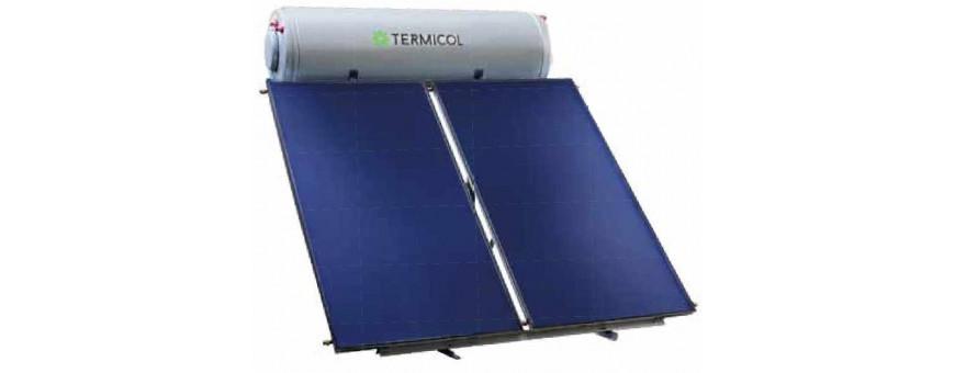 Comprar, instalar placas de energía solar para agua caliente Termicol